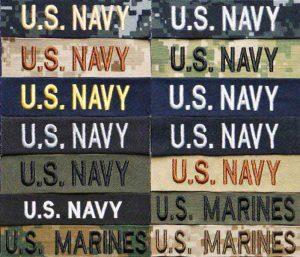 U.S. NAVY Name Tag