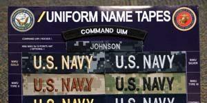 U.S. NAVY Name Tag U.S. NAVY Name Tape